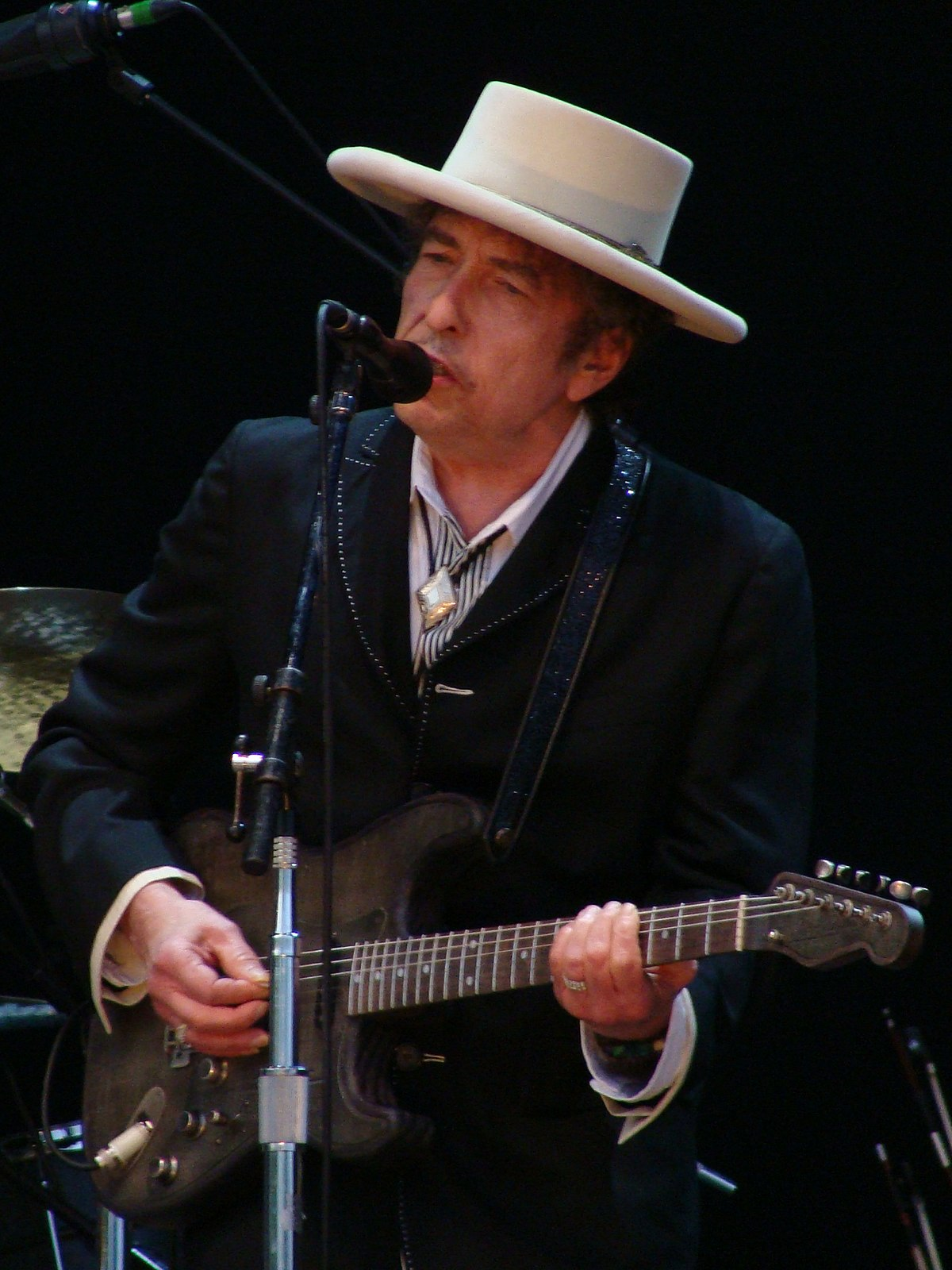 Bob Dylan (2010) Picture by: Alberto Cabello