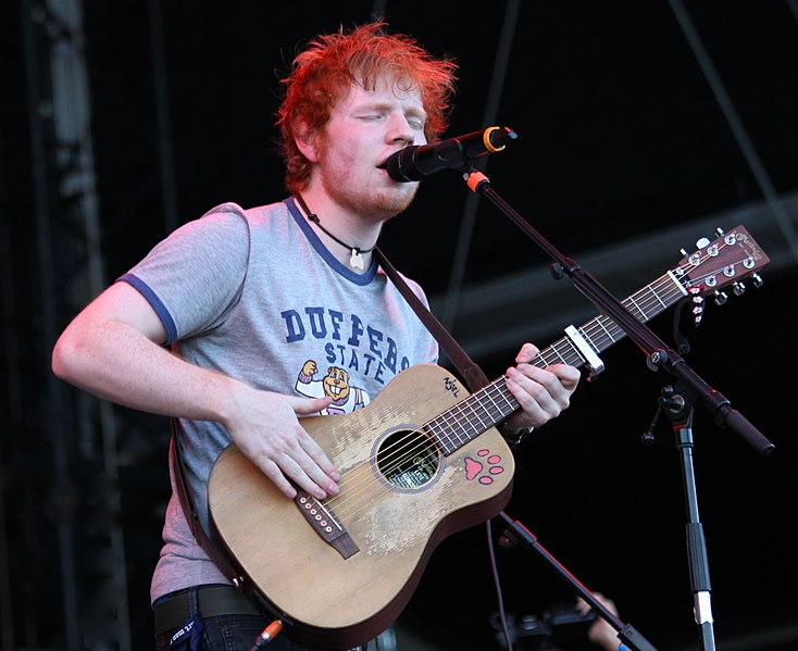Ed Sheeran Frequency 2012