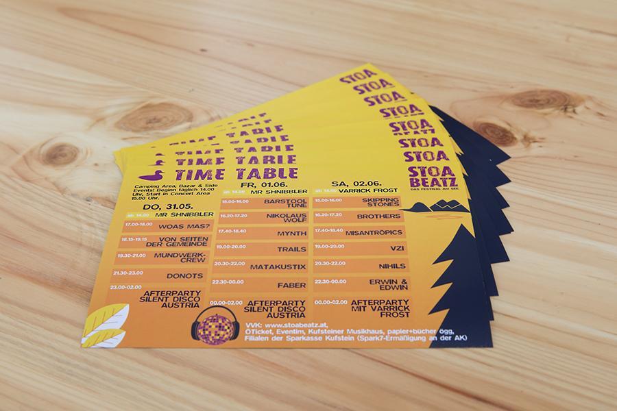 Stoabeatz 2018 Flyer