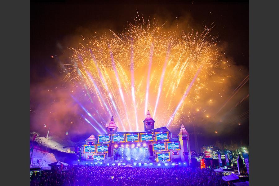 Feuerwerk - Sound&Snow 2019