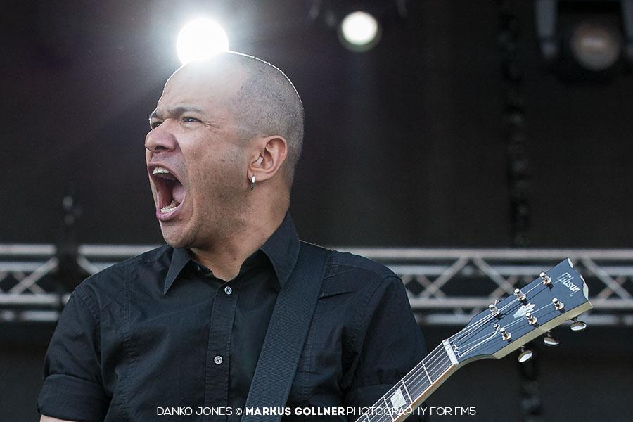 Danko Jones - Rock In Vienna 2015 Markus Gollner for FM5